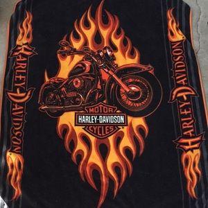 Genuine Harley-Davidson Large Throw Blanket